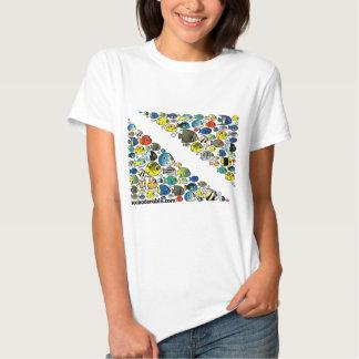 Scubadorable Diver Down Flag T-Shirt
