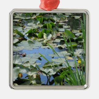 Scudder Pond Metal Ornament