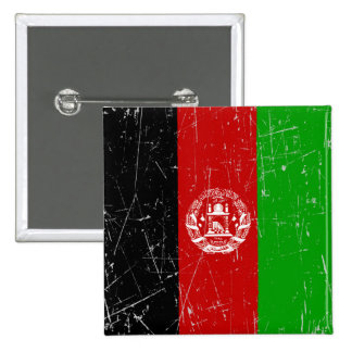 Scuffed and Scratched Afghan Flag Pins