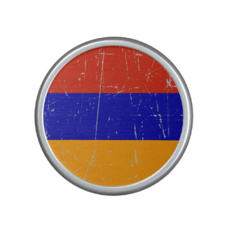 Scuffed and Scratched Armenian Flag Bluetooth Speaker