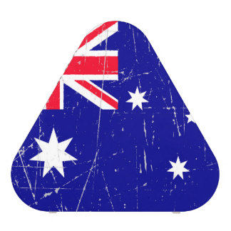 Scuffed and Scratched Australian Flag Speaker