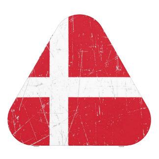 Scuffed and Scratched Danish Flag Bluetooth Speaker