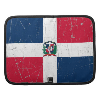 Scuffed and Scratched Dominican Flag Folio Planner