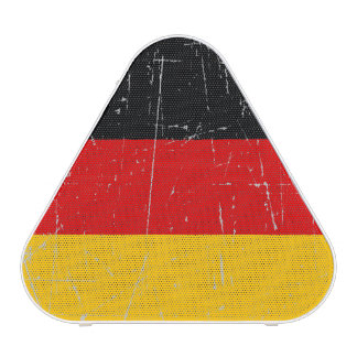 Scuffed and Scratched German Flag Speaker
