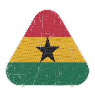 Scuffed and Scratched Ghana Flag Bluetooth Speaker