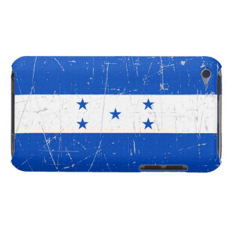 Scuffed and Scratched Honduras Flag Barely There iPod Case