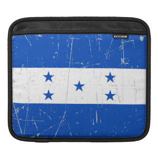 Scuffed and Scratched Honduras Flag Sleeve For iPads