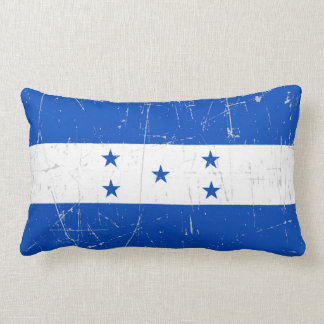 Scuffed and Scratched Honduras Flag Pillows