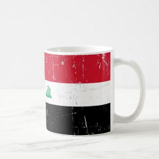 Scuffed and Scratched Iraqi Flag Mugs