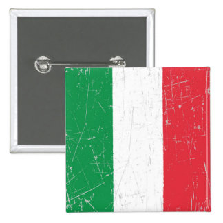 Scuffed and Scratched Italian Flag Pins