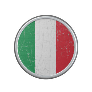 Scuffed and Scratched Italian Flag Bluetooth Speaker