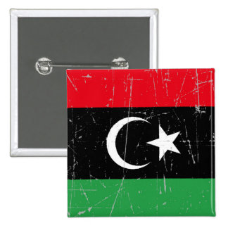 Scuffed and Scratched Libyan Flag Pin