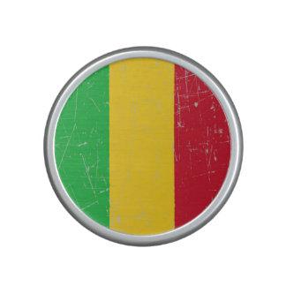 Scuffed and Scratched Mali Flag Bluetooth Speaker