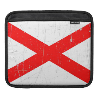 Scuffed and Scratched Northern Ireland Flag iPad Sleeve