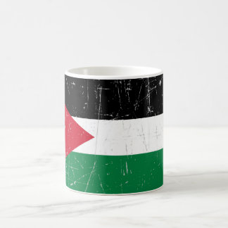 Scuffed and Scratched Palestinian Flag Coffee Mug