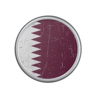 Scuffed and Scratched Qatari Flag Bluetooth Speaker
