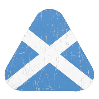 Scuffed and Scratched Scottish Flag Speaker
