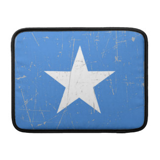 Scuffed and Scratched Somalia Flag Sleeves For MacBook Air