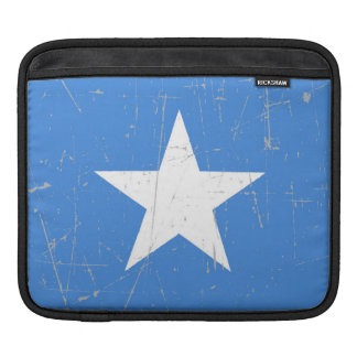 Scuffed and Scratched Somalia Flag Sleeves For iPads