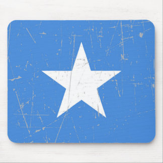 Scuffed and Scratched Somalia Flag Mouse Pad