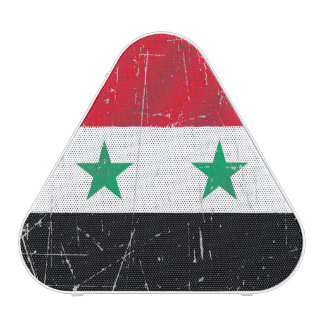 Scuffed and Scratched Syrian Flag Speaker