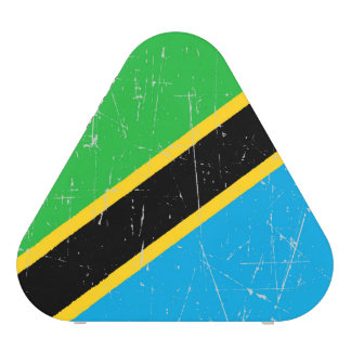 Scuffed and Scratched Tanzania Flag Bluetooth Speaker