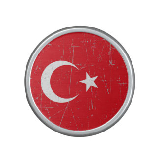 Scuffed and Scratched Turkish Flag Speaker