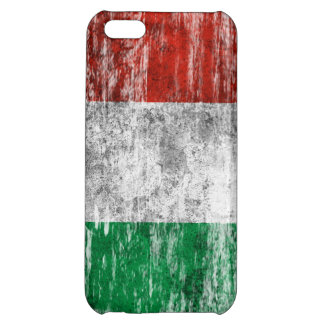 Scuffed and Worn Italian Flag iPhone 5C Covers