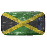 Scuffed and Worn Jamaican Flag Galaxy S3 Case