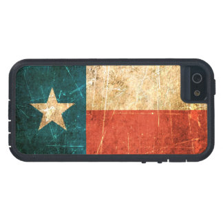 Scuffed and Worn Texas Flag iPhone SE/5/5s Case