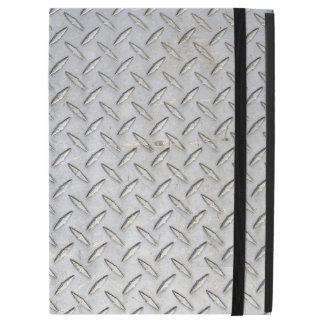 Scuffed Diamond Plate Design iPad Case