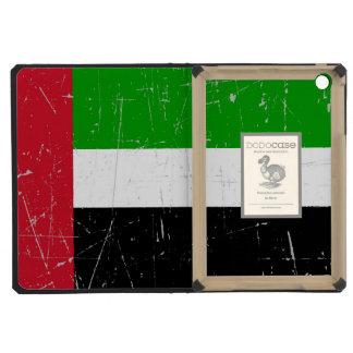 Scuffed Scratched United Arab Emirates Flag iPad Mini Retina Case