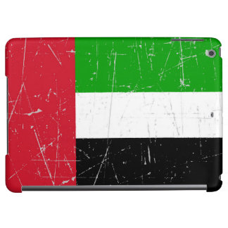 Scuffed Scratched United Arab Emirates Flag iPad Air Cover