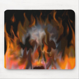 scull fire mouse pad