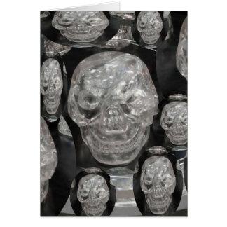 Scull Guru del amo del cráneo de BNW Tarjeta De Felicitación