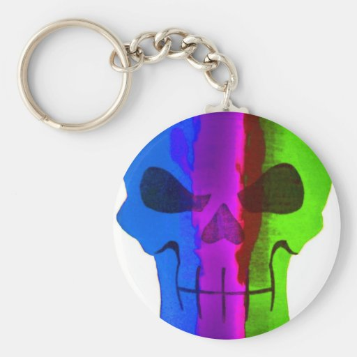 scull keychain