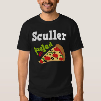Sculler (Funny) Pizza T Shirt
