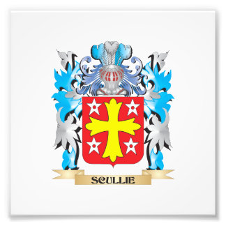 Scullie Coat of Arms - Family Crest Photographic Print