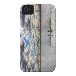 Sculling at London City Airport iPhone 4 Cover