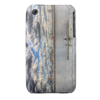 Sculling at London City Airport iPhone 3 Case-Mate Cases