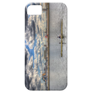Sculling at London City Airport iPhone 5 Cases