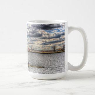 Sculling at London City Airport Mug