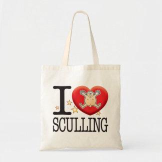 Sculling Love Man Tote Bag