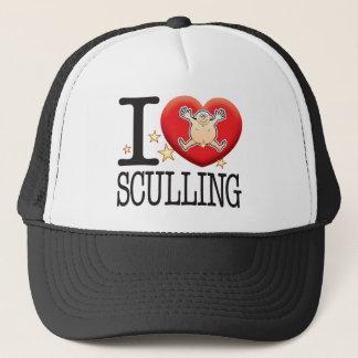 Sculling Love Man Trucker Hat