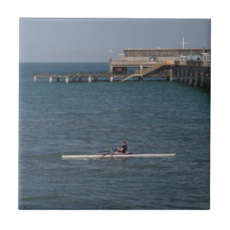 Sculling On The Sea Tiles