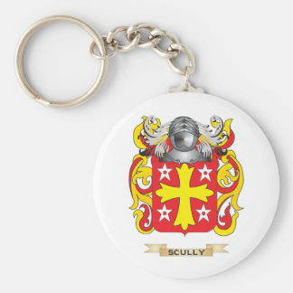 Scully Coat of Arms (Family Crest) Keychain