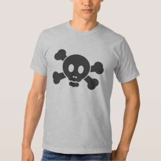 Scully the pirate (black) tees