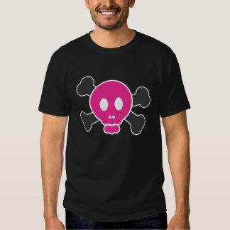 Scully the pirate (pink) tshirts