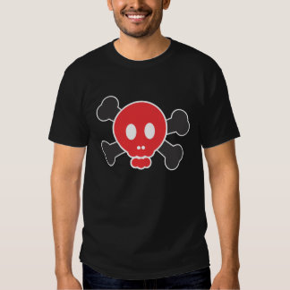 Scully the pirate (red) tshirts