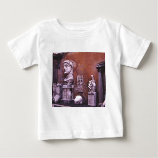 Sculpted Body Parts  Colossus of Constantine Rome Baby T-Shirt